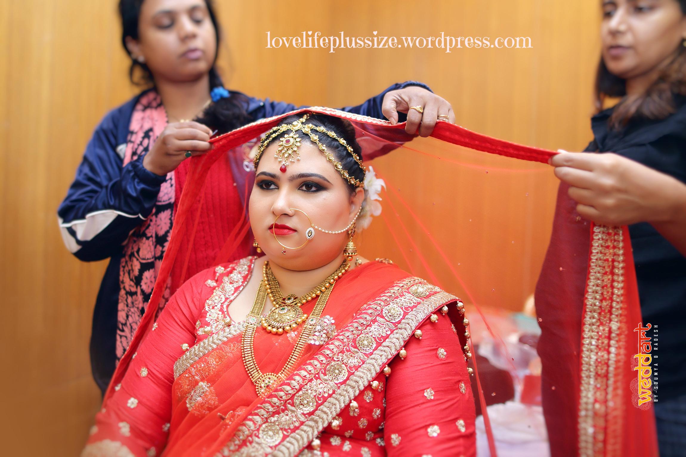 Indian Plus Size Bride Love Life Plus Size